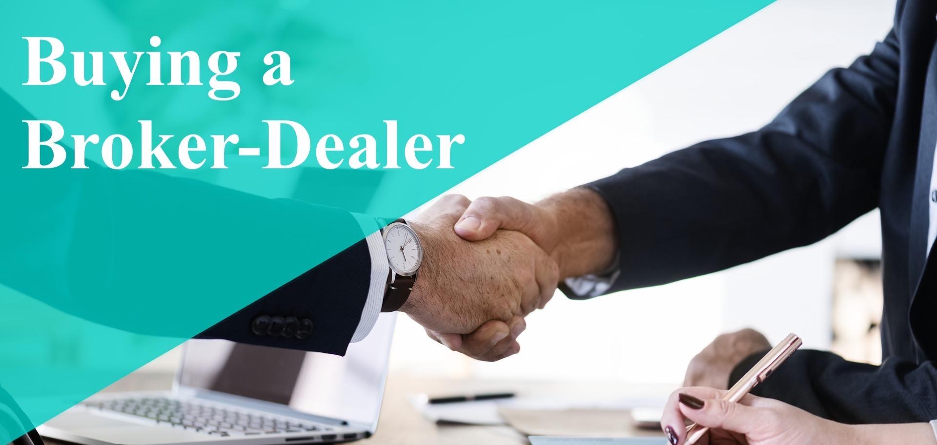 Buy a Broker Dealer